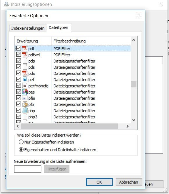 PDF Indexing Filter for native Windows10 applications - Noggle